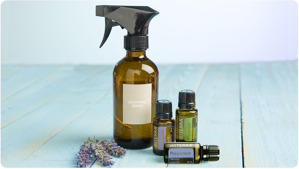 After Sun Soothing Spray with dōTERRA Oils