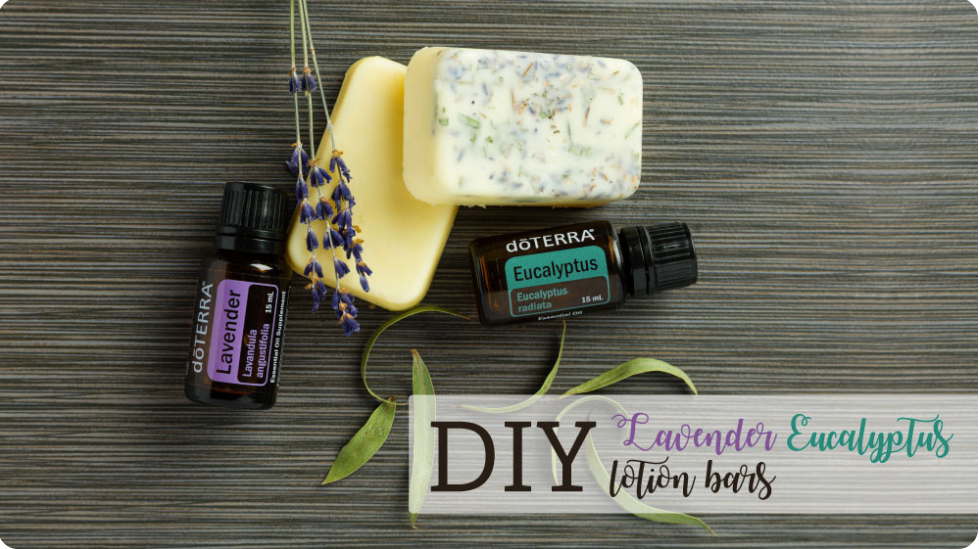 DIY Lotions Bars with dōTERRA Oils