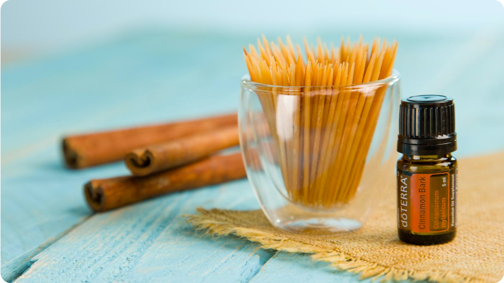 Flavored Toothpicks with dōTERRA Oils