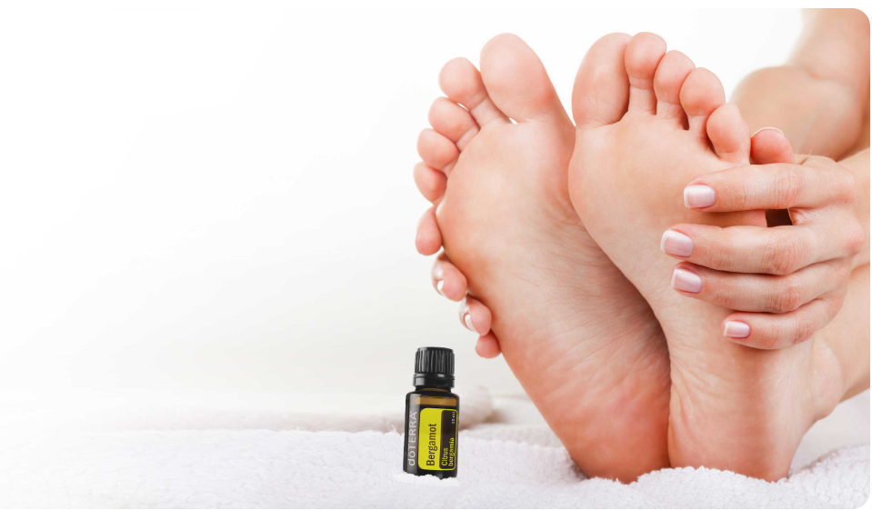 Foot Mask with dōTERRA Bergamot