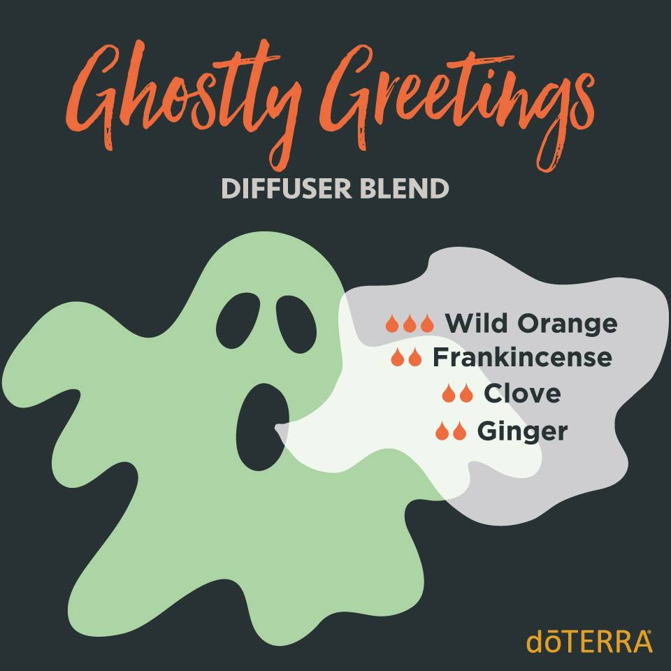 Ghostly Greetings Diffuser Blends with dōTERRA Oils