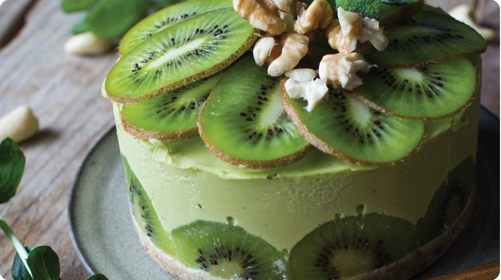 Raw Avocado Cake