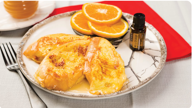 French Toast with dōTERRA Wild Orange