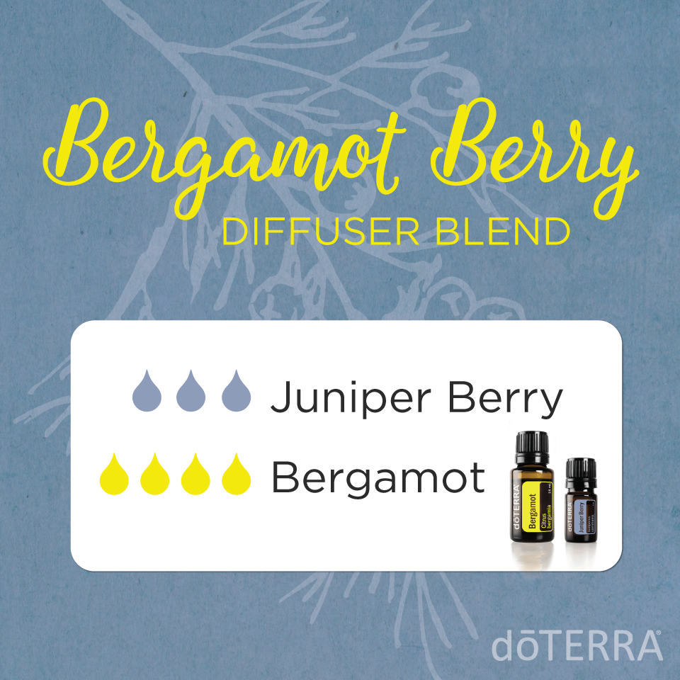 Bergamot Berry Diffuser Blend with dōTERRA Oils