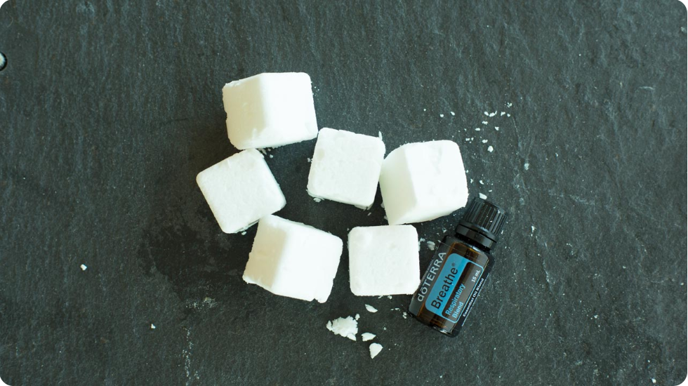 Shower Melts with dōTERRA Breathe