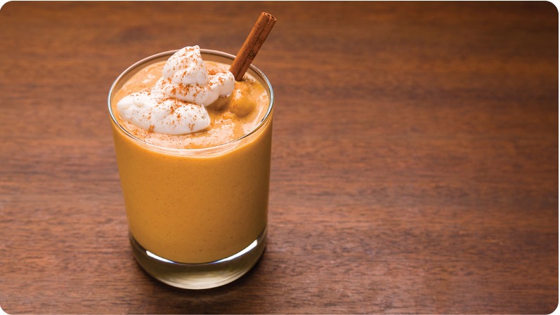 Pumpkin Smoothie with dōTERRA On Guard