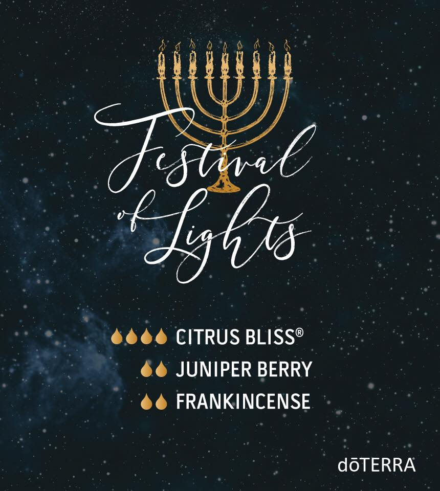 Festival of Lights with dōTERRA Oils