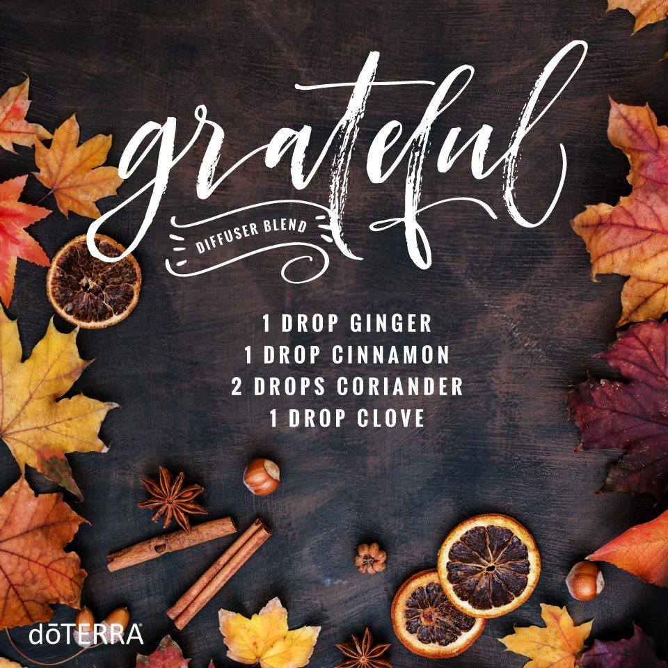 Grateful Diffuser Blend with dōTERRA Oils