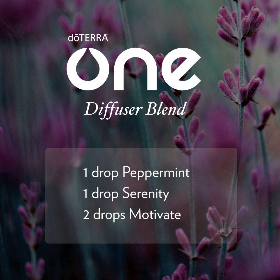 One Diffuser Blend with dōTERRA Oils