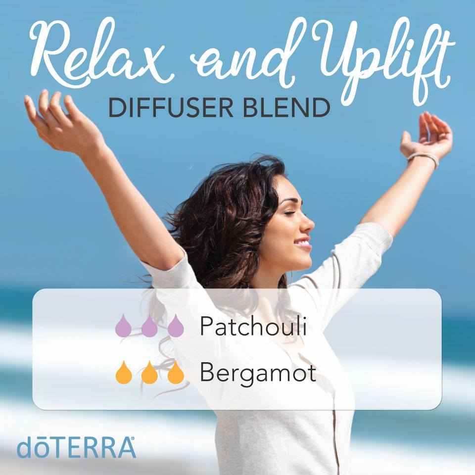 Relax and Uplift Diffuser Blend with dōTERRA Oils