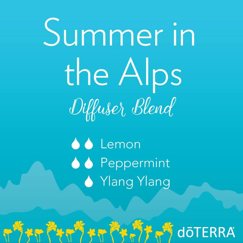 Summer in the Alps Diffuser Blend with dōTERRA Oils