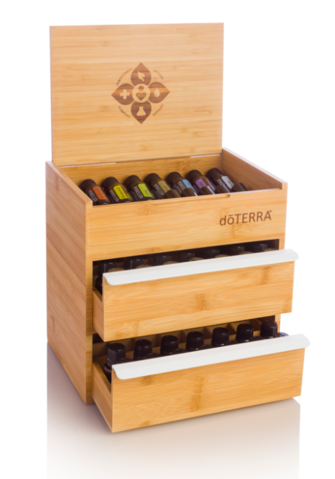 dōTERRA Bamboo Box Double Drawer