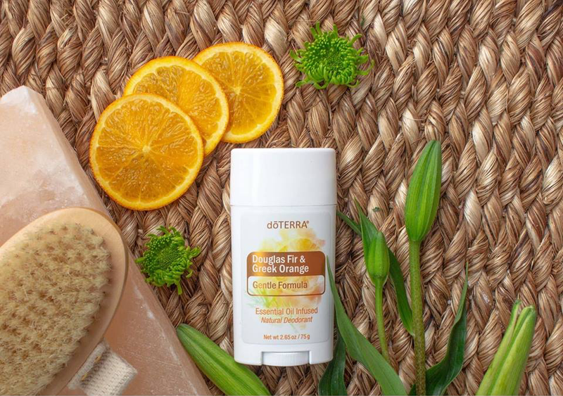 dōTERRA  Natural Deodorant Gentle Formula with Douglas Fir & Greek Orange