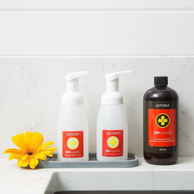 dōTERRA On Guard® Foaming Hand Wash with 2 Dispensers