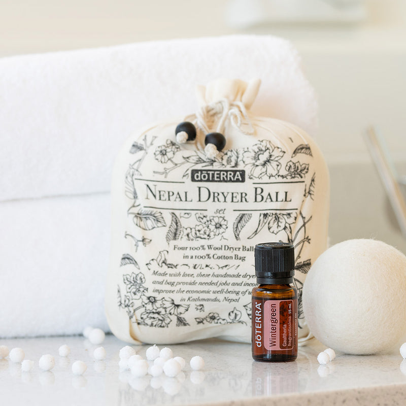 Nepal Dryer Balls with Wintergreen 15mL
