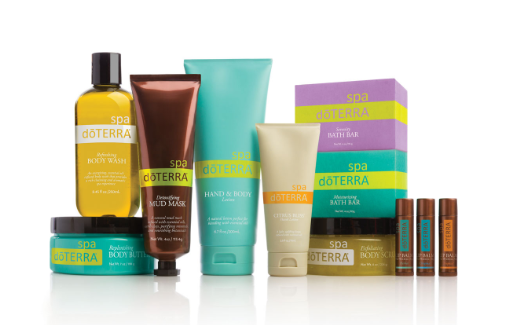 dōTERRA Total SPA Kit