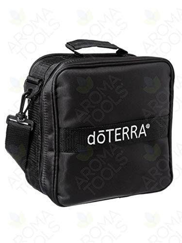 dōTERRA Branded Medium Versatile Aromatherapy Case - Black (Holds 36 vials)
