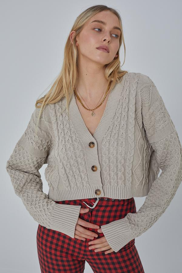 Milk It Sable Cardi