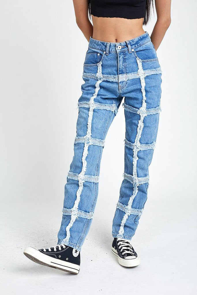 Crook Jean Blue
