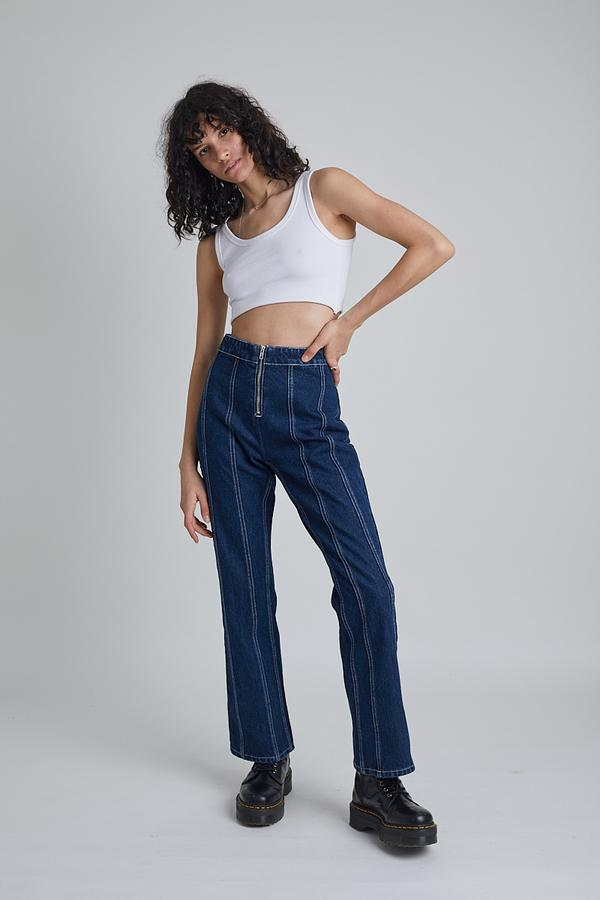Milk It Recycled Denim Prairie Jean