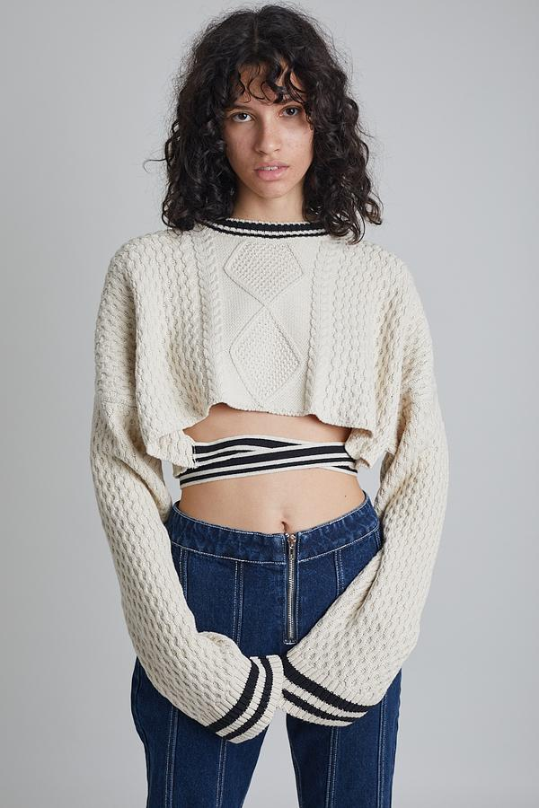 Milk It Twist Knit