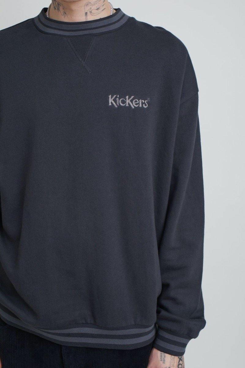 Kickers Mens Grey Sweatshirt With Small Logo
