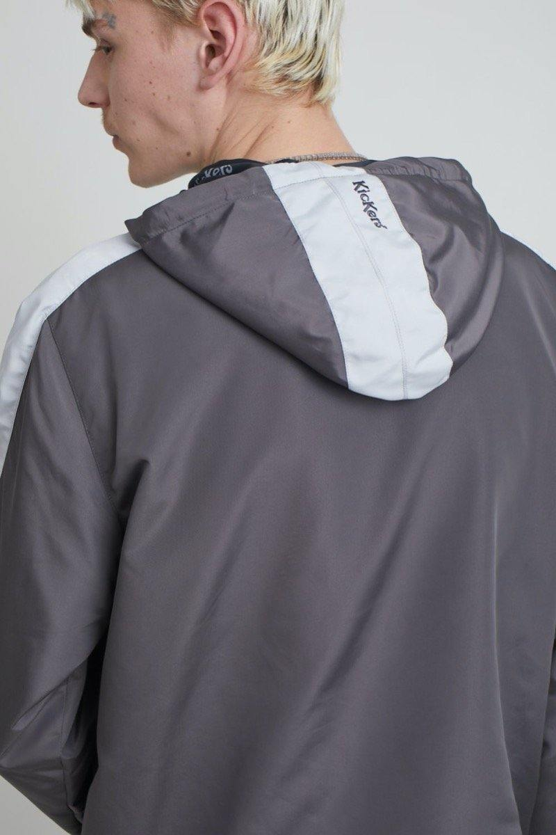 Kickers Mens Grey Anorak