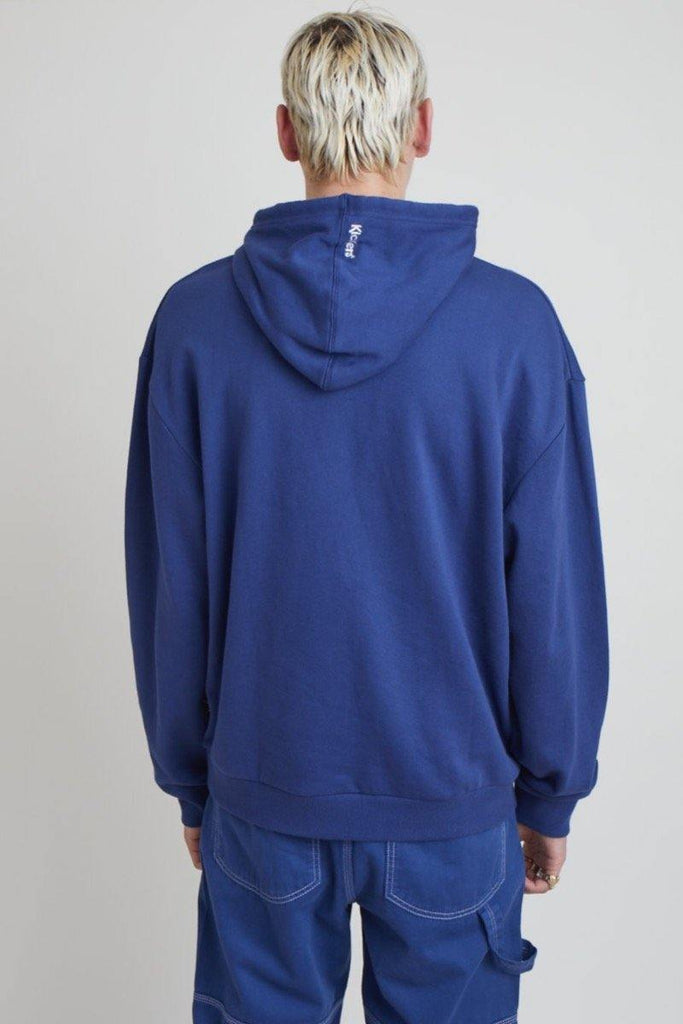 Kickers Mens Navy Hoodie - The Ragged Priest