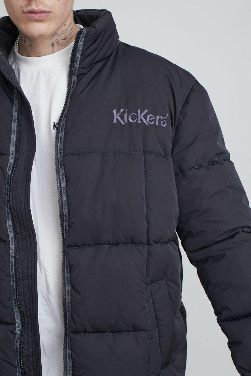Kickers Mens Black Puffer