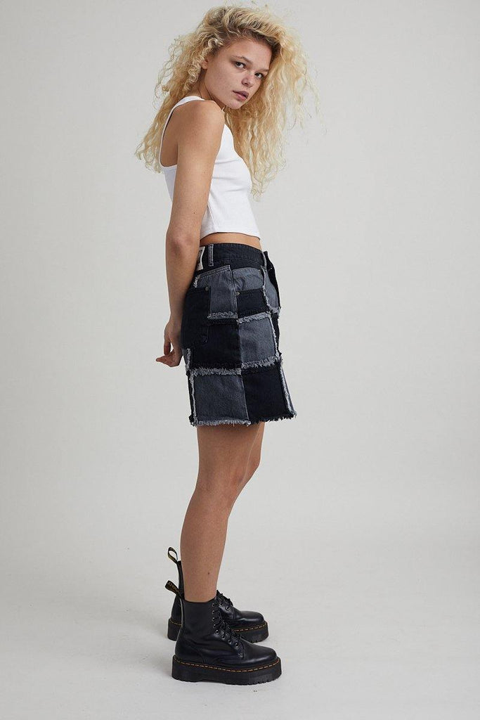 Resolute Skirt - Charcoal - The Ragged Priest