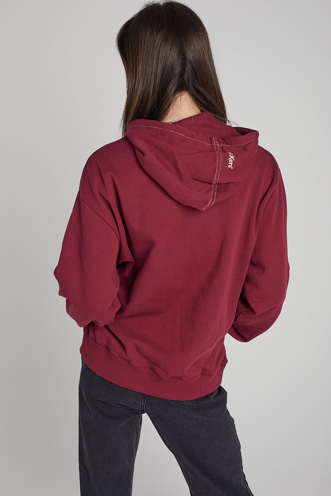 Kickers Pomegranate Hoodie