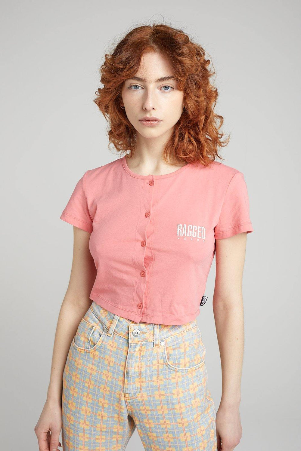 Verve Tee - Pink - The Ragged Priest
