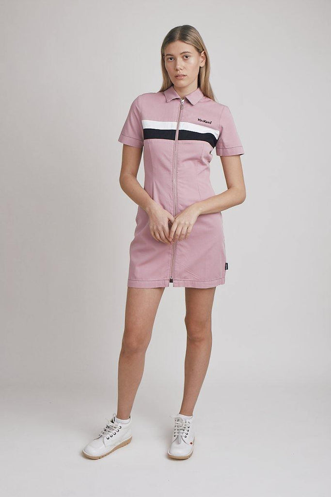 Kickers Pink Shirt Dress