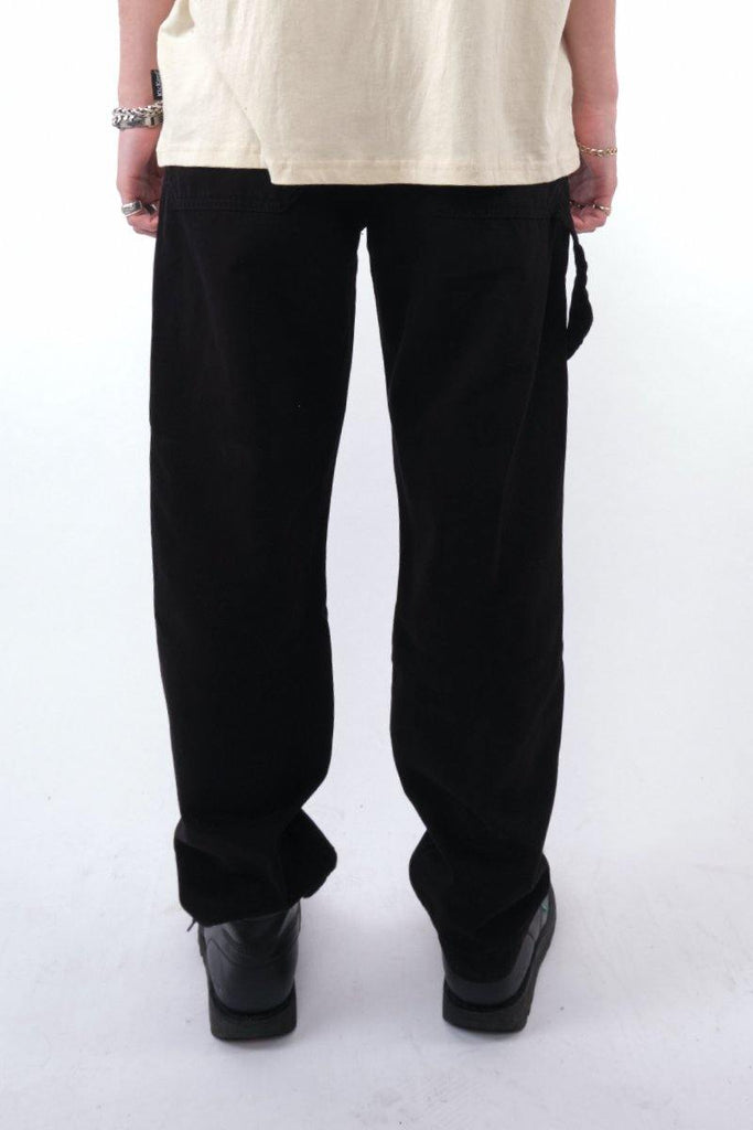 Kickers Mens Black Drill Pants