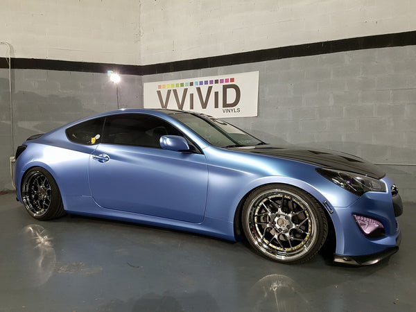 2019 VViViD+ Satin ICE Chrome - The VViViD Vinyl Wrap Shop