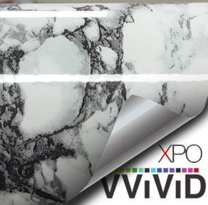 White Black-Veined Marble Vinyl - The VViViD Vinyl Wrap Shop