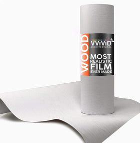VViViD Unicorn White Wood Architectural Film