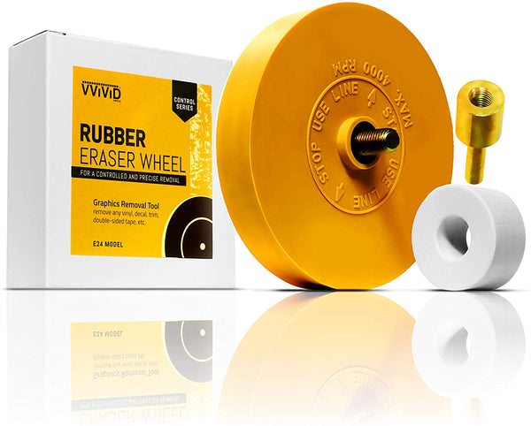 Control Series Rubber Eraser - Graphics & Adhesive removal (MCF) - The VViViD Vinyl Wrap Shop
