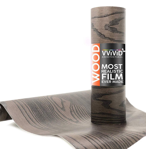 VViViD Chocolate Brown Ash Wood Architectural Film