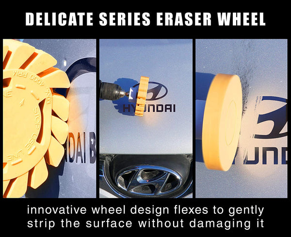 Delicate Series Rubber Eraser - Graphics & Adhesive removal (MCF) - The VViViD Vinyl Wrap Shop