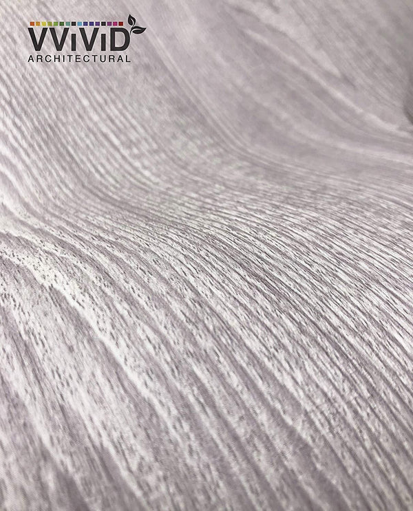 VViViD Vintage Light Grey Wood Architectural Film - The VViViD Vinyl Wrap Shop