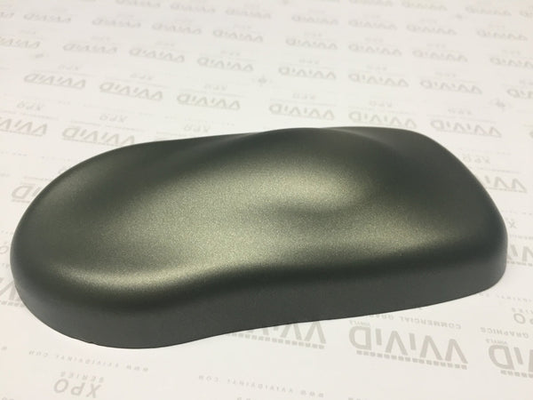 2019 VViViD+ Matte Metallic Military Green (Ghost) - The VViViD Vinyl Wrap Shop