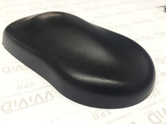 VViViD+ Black Fine Grain Leather Vinyl Wrap Demo 2 | Vvivid Canada