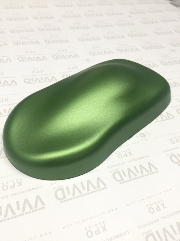 2019 VViViD+ Matte Metallic Green (Ghost) - The VViViD Vinyl Wrap Shop