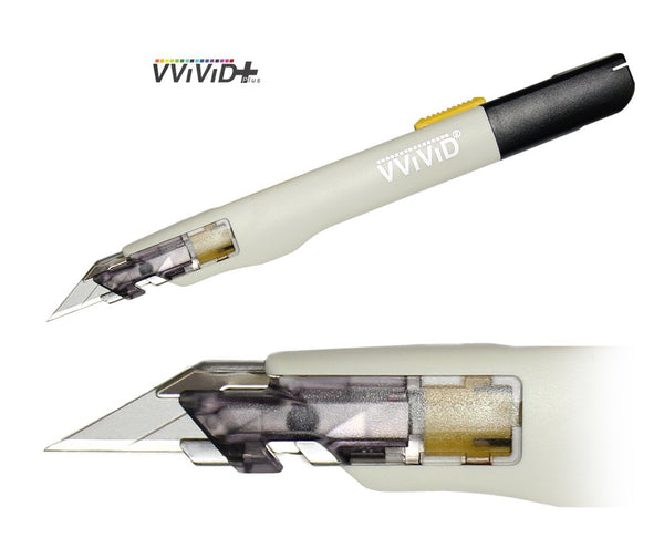 VViViD+ Premium Precision 30° Retractable Utility Cutting Knife - The VViViD Vinyl Wrap Shop