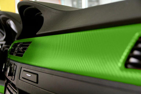Lime Dry Carbon - The VViViD Vinyl Wrap Shop