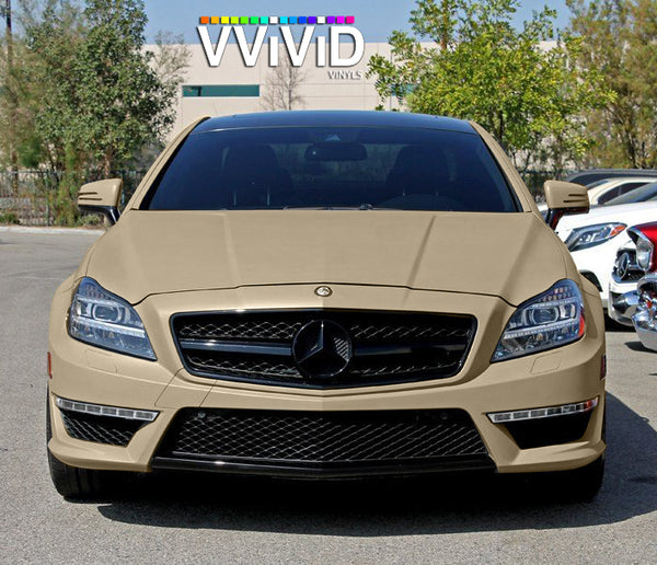 2019 VViViD+ Matte Rally Beige - The VViViD Vinyl Wrap Shop