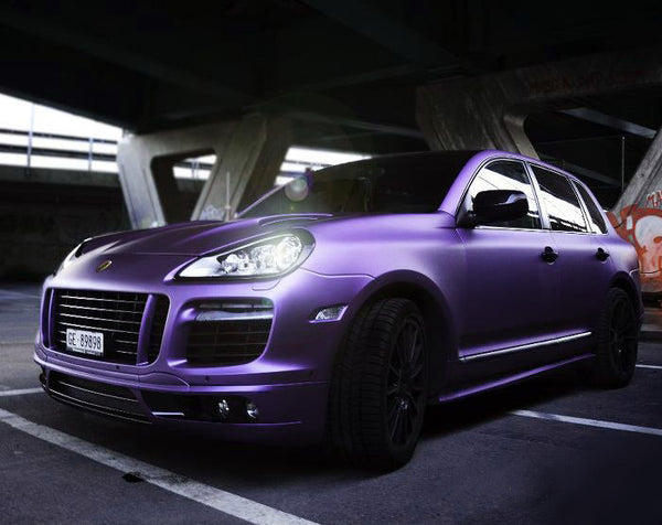 Vvivid Matte Gt3 Midnight Purple Vinyl Wrap Aka