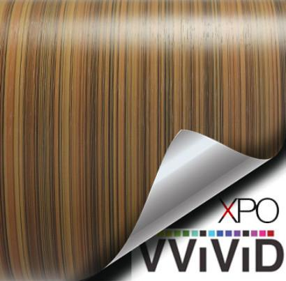 XPO Striped Maple Wood Grain Vinyl Wrap | Vvivid Canada
