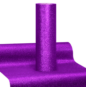 V2 Pro Purple Glitter Heat Transfer Film HTV